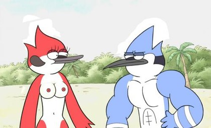The Regular Show Rule 34